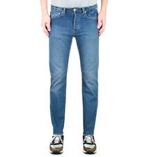 Edwin ED-80 CS Power Blue Denim Baltic Wash Slim Tapered Jeans