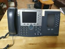 CISCO CP-7965 UNIFIED TELEPHONE IP HANDSET W/ CP-7916 EXPANSION MODULE