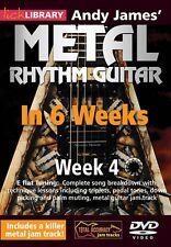 Andy James' Metal Rhythm Guitar in 6 Weeks Week 4 Lick Library DVD NEW 000393173