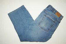 Mens Cremieux Relaxed Jeans Size 38x30 (39x23 Actual) Pro Shortened 100% Cotton