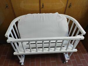 babybay Beistellbett Original weiß lackiert extra belüftet