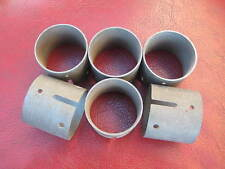 Six 43mm Dellorto Chokes for Triple 48DHLA carburettors, NOS