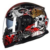 GXT Brand Full Motorcycle Racing Helmet Double Lens Moto Casco Capacete Helmets