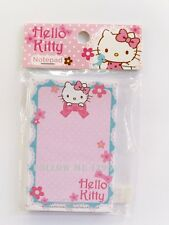 HELLO KITTY KAWAII CUTE NOTEPAD CARTOON PLANNER MEMOPAD SMALL 50 SHEETS # NO.6