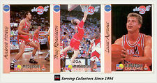 1992 Australia Basketball Cards NBL Factory Team Set S. E. Melbourne Magic (12)
