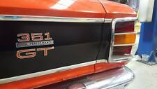 FORD FALCON XW GT HO BOOT MOULD KIT WITH ENDS CONCOURS AS ORIGINAL ALUMINIUM NEW