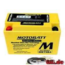 Motobatt mbt9b4 AGM batería de motocicleta sustituye a yt9b-bs