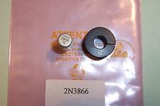 2N3866 RF power transistor WITH HEATSINK  TO-39 28V Pt 1W  Ft 500Mhz Qty 1 NOS