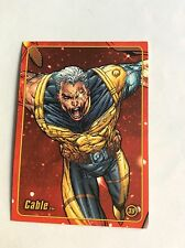 CABLE MARVEL FIGURE FACTORY SERIES 2 TRADING CARD 39
