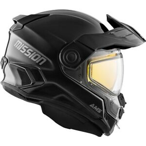 CKX AMS Mission Solid Black Helmet w/ Electric Shield (EDL)  OFFERS ACCEPTED