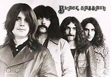 BLACK SABBATH - BAND MEMBERS - FABRIC POSTER - 30x40 WALL HANGING - HFL0512