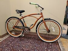 "Huffy 56409P7 26 inch Cruiser Bicycle - Orange ""Cranbrook Edition"""