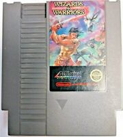 Wizards & Warriors Nintendo NES Game only Akklaim Clean & Tested