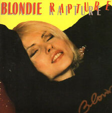 CD SINGLE BLONDIE Rapture - Live it up - DISCO MIX - 4-track CARD SLEEVE