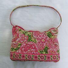 Vera Bradley Petal Pink Hobo Handbag Shoulder Bag Purse Medium Size Retired