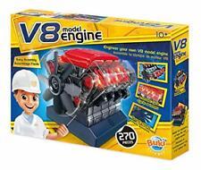 Elektrobaukasten V8 Motor Buki France 7161 Moteur Lernspielzeug Bauset B-WARE