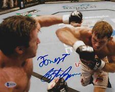 Forrest Griffin & Stephan Bonnar Signed 8x10 Photo BAS COA UFC Picture Autograph