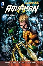 DC COMICS THE NEW 52 AQUAMAN Volume 1,2 & 3 Graphic Novel Gift Bundle set