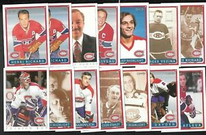 1992-93 OPC MONTREAL CANADIENS FANFEST NHL HOCKEY CARD & VARIATION SEE LIST
