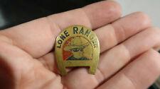 Lone Ranger Silver's Lucky Horseshoe Button Pin