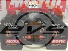 4 Litri Olio Trasmissione Cambio Differenziale Motul MOTYLGEAR 75W85 API GL4 GL5