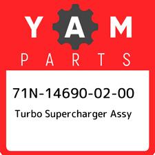 71N-14690-02-00 Yamaha Turbo supercharger assy 71N146900200, New Genuine OEM Par