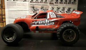RC nitro car 1:10 HPI Rush Evo with T-15 hpi engine .Stadium truck  2wd