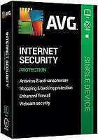 Avg internet security 1 pc / 1 Device 2 years 2020  Genuine code  1 user