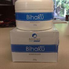 Misumi Bihaku Wonder Bleach Face And Body Bleach 300g Authentic-USA SELLER