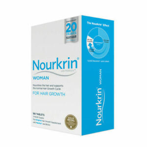 Nourkrin 2NK-0040 Woman's Hair Growth Tablets - 180 Count