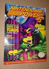 Nintendo Power Battle Toads Vol 25 VG+ with Spy Hunter Poster