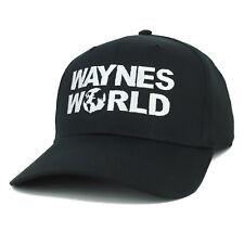 XXL Oversize Wayne's World Embroidered Plain Baseball Cap - FREE SHIPPING