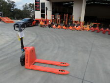 New EP Semi-Electric Pallet Jack, 1.5Ton, 560mm Wide