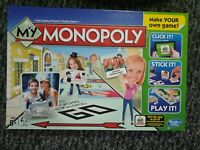 My Monopoly Make Your Own Personalised Board Game Create