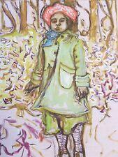 Billy Childish-BAMBINO FIRMATO NUMERATO EDIZIONE LIMITATA ART PRINT 27/200
