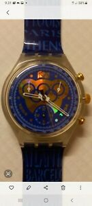 Swatch Collector Chrono 1894-1994 One Hundred Years of the Olympic Movement.New.