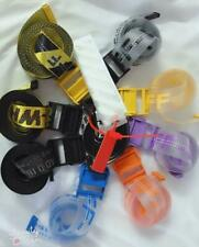 Luxury New Off White Tie Down Yellow Transparent jelly Belt 130cm-200cm