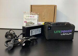 Litepower Extended Range LifePO4 Golf Battery 12.8v 22Ah