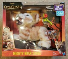Brand New The Lion King Mighty Roar Simba Interactive Plush Toy