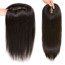 Frontal Cover Thin Hair Topper 100% Human Hair Hairpieces Clip In Mono Base