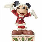 TIS A SPLENDID SEASON Mickey Mouse Figur Jim Shore Weihnachten 6002842 Disney