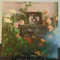 "Steppenwolf – ""Rest In Peace"" - Original 1972 Classic Rock Vinyl LP - VG+/VG"