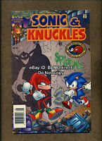 1995 Sonic & Knuckles Special #1 VF+ First Print Archie Series The Hedgehog