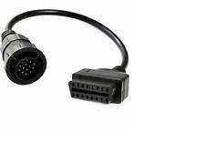 MERCEDES 14 Pin OBD OBD2 Diagnostic Cable Adaptor to 16Pin OBDII Connector