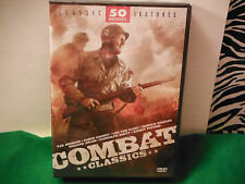 COMBAT CLASSICS:50 MOVIE PACK-BRAND NEW/SEALED 12 DVD SET! 70 HOURS/40 MINUTES!