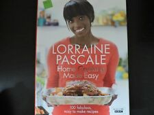 LORRAINE PASCALE, HOME COOKING MADE EASY, HARDBACK COOKBOOK #KR24 GA- 1810