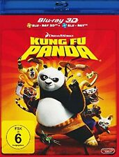 KUNG FU PANDA (+ 2D-Version) [3D Blu-ray] The One And Only! * NEU & OVP *