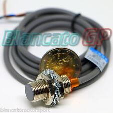 SENSORE DI PROSSIMITÀ  CILINDRICO HALL NJK-5002C (8002C) M12 NPN MAGNETE LED