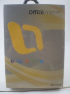 Microsoft Office 2008 for Mac 882224526166 NEW sealed