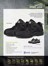 JB's Safety Work Sport Shoes Ideal for Couriers Warehouse Worker Steel Toe Cap